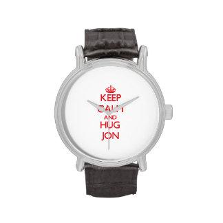 Keep Calm and HUG Jon Watches