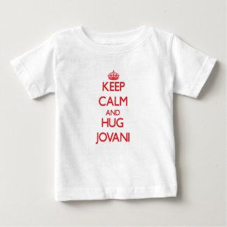 Keep Calm and HUG Jovani Tee Shirt