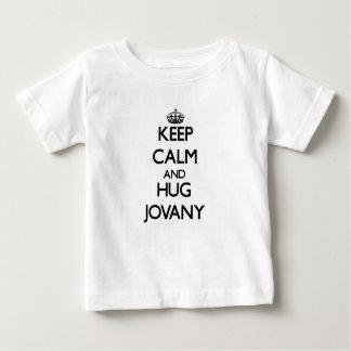 Keep Calm and Hug Jovany Infant T-Shirt