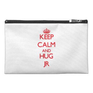 Keep calm and Hug Jr Travel Accessory Bag