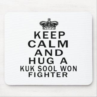 Keep Calm And Hug Kuk Sool Won Fighter Mouse Pads