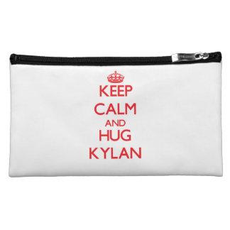 Keep Calm and HUG Kylan Cosmetic Bag