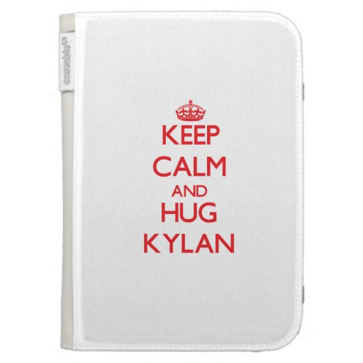 Keep Calm and HUG Kylan Kindle Keyboard Covers