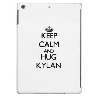 Keep Calm and Hug Kylan Cover For iPad Air