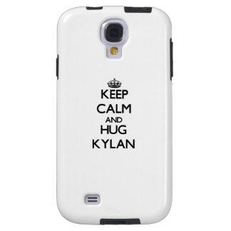 Keep Calm and Hug Kylan Galaxy S4 Case