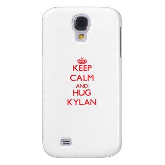 Keep Calm and HUG Kylan HTC Vivid Cover