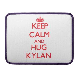 Keep Calm and HUG Kylan Sleeve For MacBooks