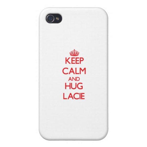Keep Calm and Hug Lacie iPhone 4/4S Case