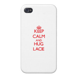 Keep Calm and Hug Lacie iPhone 4/4S Cases