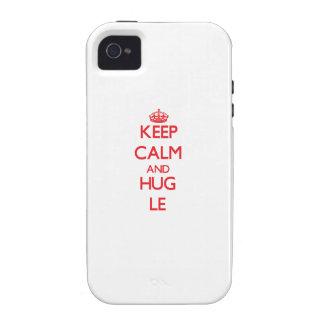 Keep calm and Hug Le Case For The iPhone 4