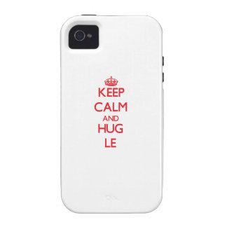 Keep calm and Hug Le Case-Mate iPhone 4 Cover