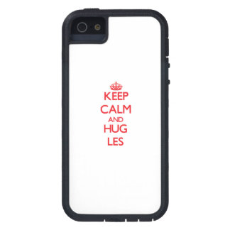 Keep Calm and HUG Les iPhone 5 Cover