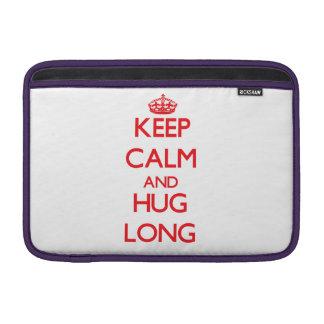 Keep calm and Hug Long MacBook Sleeves