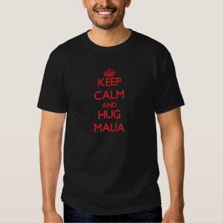 Keep Calm and Hug Malia T-shirt