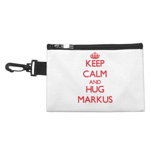 Keep Calm and HUG Markus Accessories Bag
