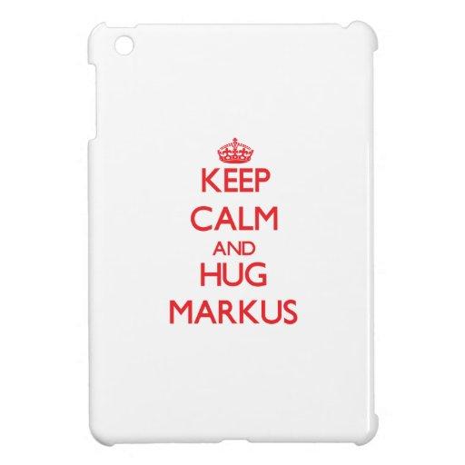 Keep Calm and HUG Markus iPad Mini Case