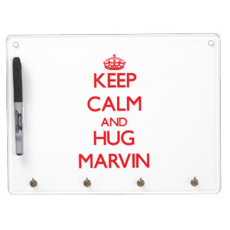 Keep Calm and HUG Marvin Dry Erase Whiteboard
