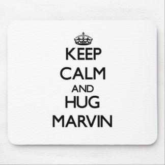 Keep Calm and Hug Marvin Mouse Pad