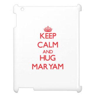 Keep Calm and Hug Maryam Cover For The iPad 2 3 4