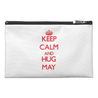 Keep calm and Hug May Travel Accessories Bag