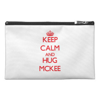 Keep calm and Hug Mckee Travel Accessories Bags