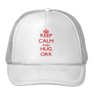 Keep calm and Hug Orr Mesh Hats