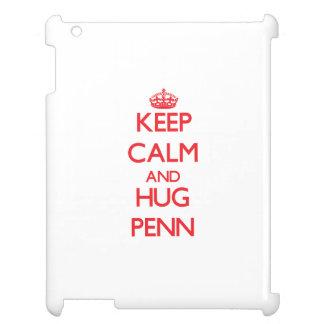 Keep calm and Hug Penn iPad Case
