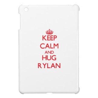 Keep Calm and HUG Rylan iPad Mini Cover
