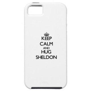 Keep Calm and Hug Sheldon iPhone 5/5S Cover