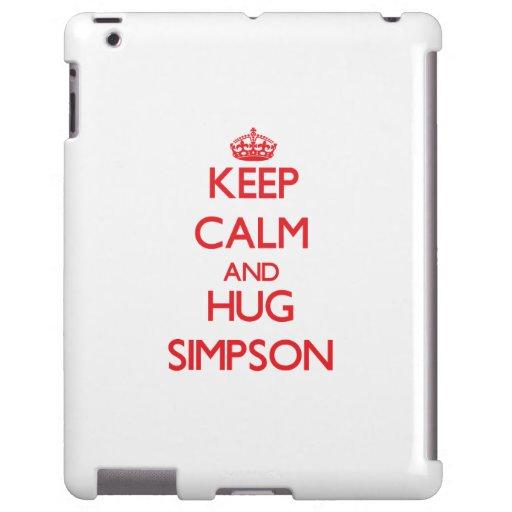 Keep calm and Hug Simpson