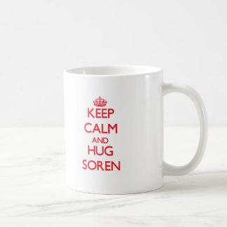 Keep Calm and HUG Soren Mugs