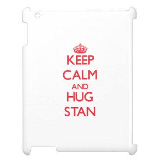 Keep Calm and HUG Stan iPad Cases