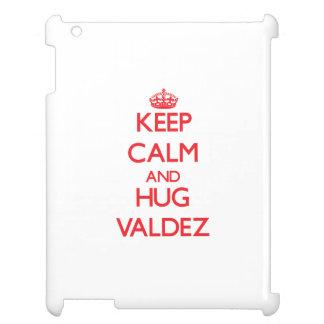 Keep calm and Hug Valdez iPad Case