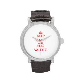 Keep calm and Hug Valdez Watch