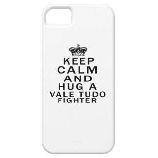Keep Calm And Hug Vale Tudo Fighter Case For iPhone 5/5S