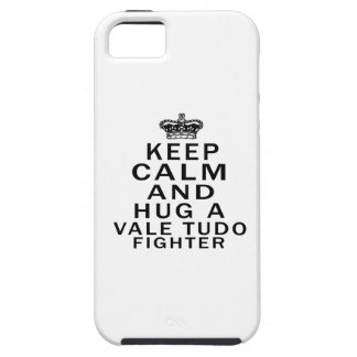 Keep Calm And Hug Vale Tudo Fighter iPhone 5 Cover