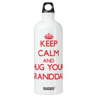 Keep Calm and HUG  your Granddad SIGG Traveller 1.0L Water Bottle