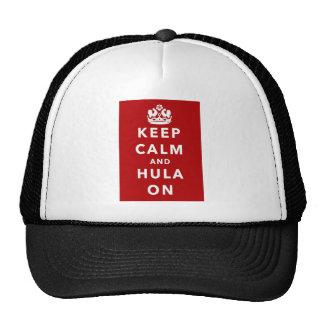 Keep Calm and Hula On Cap