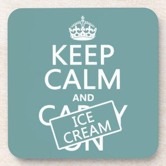 Keep Calm and Ice Cream Coaster