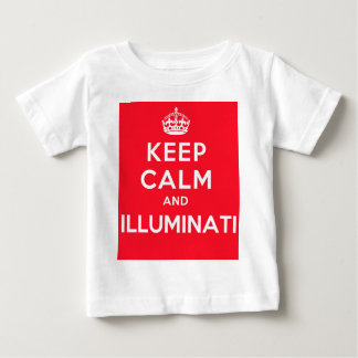Keep Calm and Illuminati Baby T-Shirt