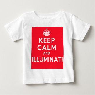 Keep Calm and Illuminati Tees