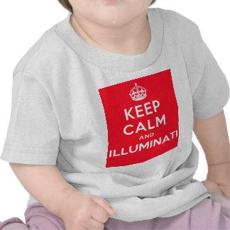 Keep Calm and Illuminati T Shirt