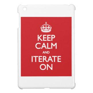 Keep calm and iterate on iPad mini hud