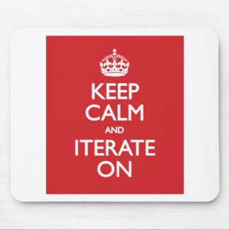 Keep calm and iterate on musmattor
