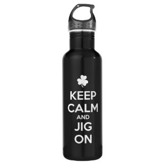 KEEP CALM and JIG ON - Irish Dance 710 Ml Water Bottle