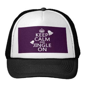 Keep Calm and Jingle On Trucker Hat
