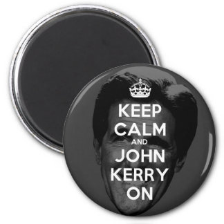 Keep Calm and John Kerry On Fridge Magnets
