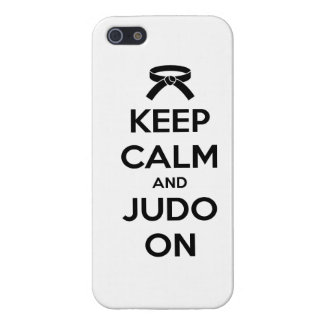Keep Calm and Judo On iPhone 5/5S Case