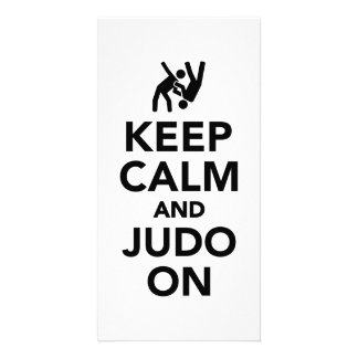 Keep calm and Judo on Photo Card