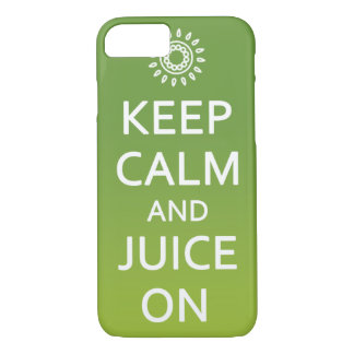 Keep Calm and Juice On! Phone Case